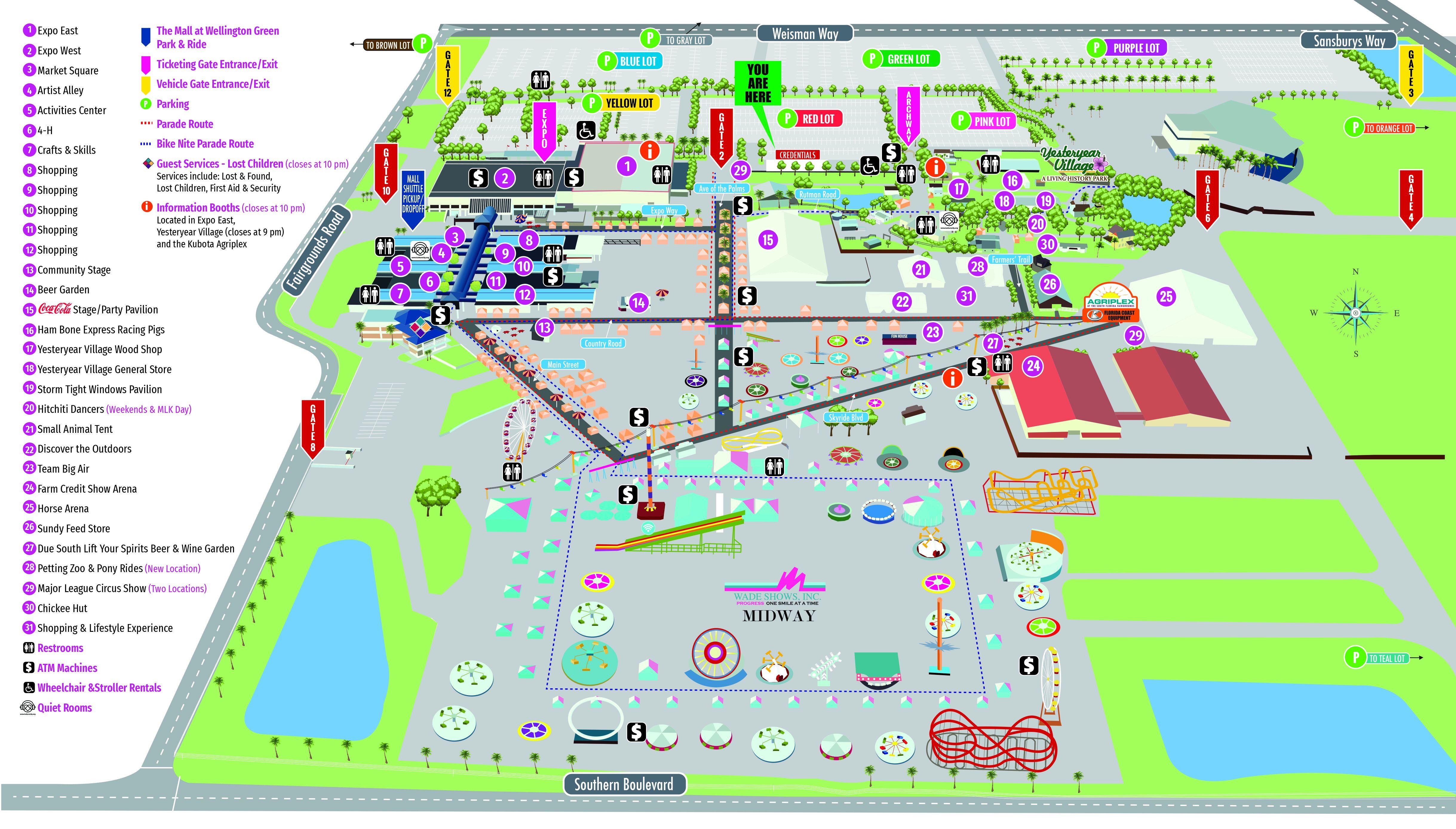 South Florida Fair Map South Florida Fair | West Palm Beach News, South Florida Breaking
