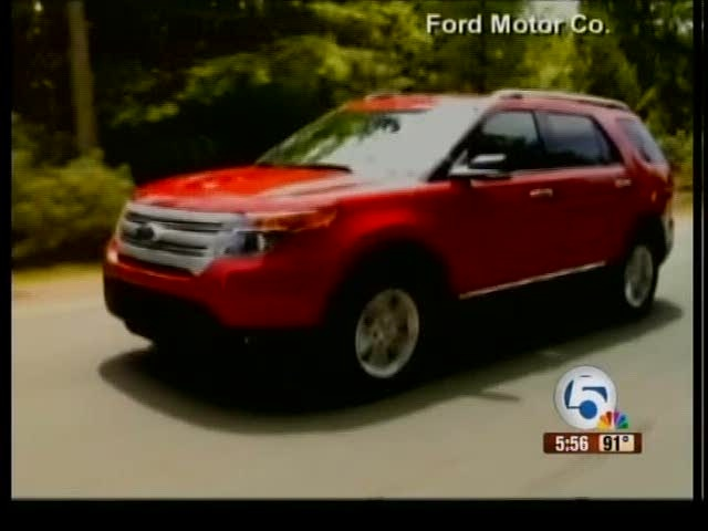 Ford unveils its newest explorer
