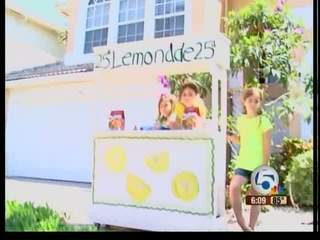 Lemonade stand curtailed