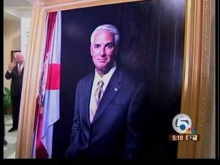 Crist portrait unveiled in Tallahassee