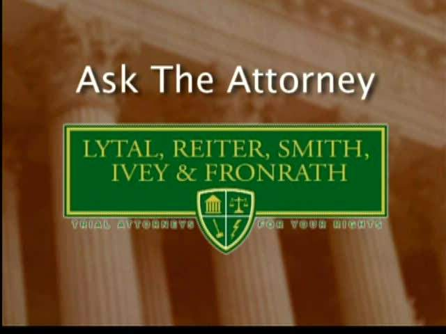 Ask the Attorney: July, 12 2011