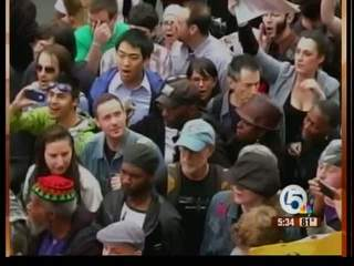 'Occupy Wall Street' crusade makes its way to South Florida