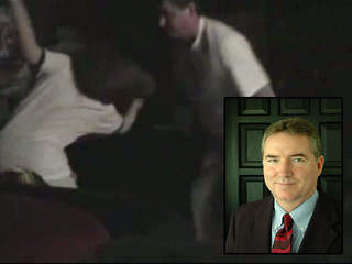 Father, a Texas judge who handles abuse cases, caught on video giving ...