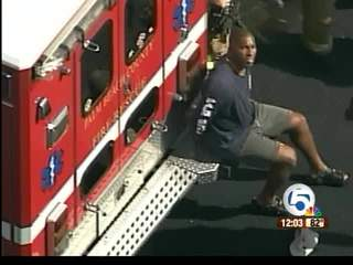 Arrested firefighter not in court Wednesday