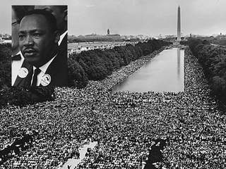 a review on martin luther kings speech i have a dream I have a dream is a picture book with parts of the famous speech by martin luther king jr illustrated with dramatic paintings by kadir nelson and a cd.