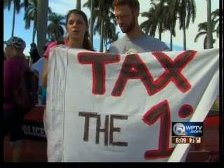 Occupy Palm Beach County hits Boca Raton
