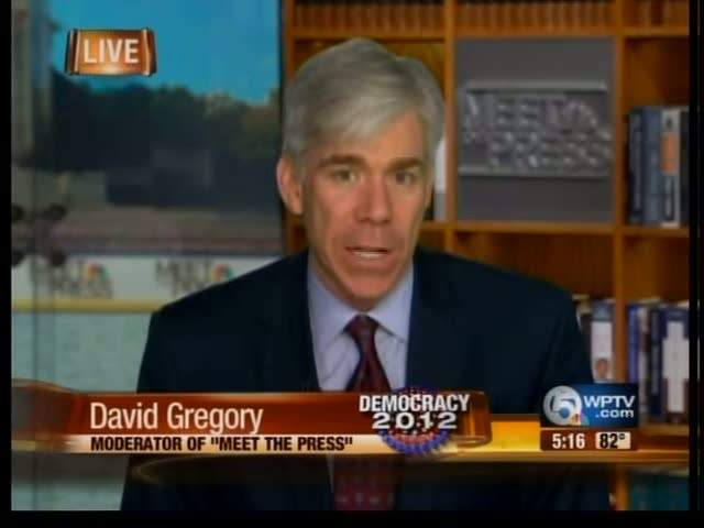 David Gregory talks about Florida primary