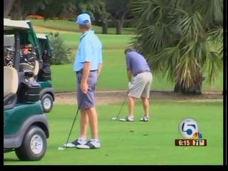 Environment Friendly Golf Tournament