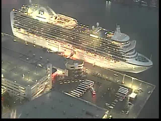 Crown Princess cruise returns to Port Everglades after second ...
