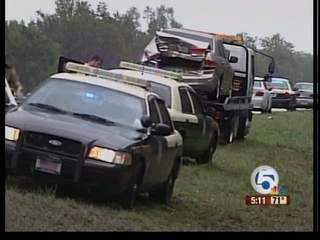 26 car pile-up on I-75