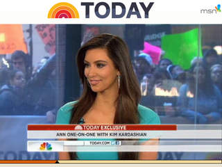 Kardashian Song Lyrics on Kim Kardashian Spoke To Ann Curry On The Today Show Friday Morning To