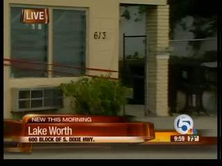 Blood found inside charred apartment in Lake Worth