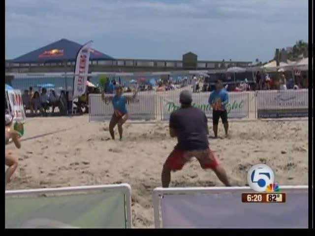 Beach tennis getting more popular