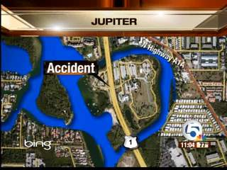 5 injured in Jupiter accident