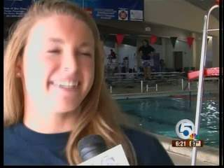 Local swimmer wants to represent the U.S.