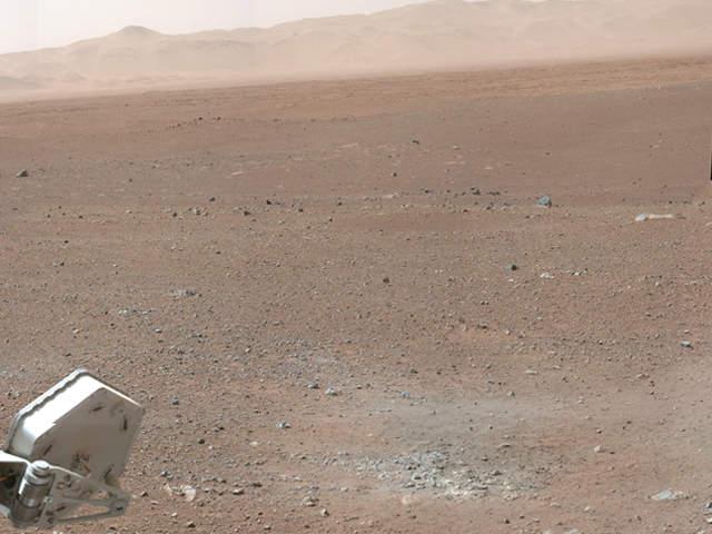 curiosity landing on steps - photo #17