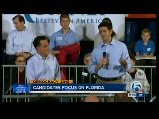 Obama, Romney focus on Florida