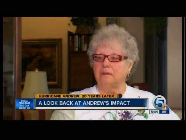 A look back at Andrew's impact 08/24/12