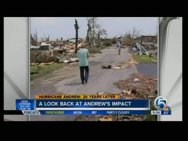 Hurricane Andrew: 20 years later 08/24/12