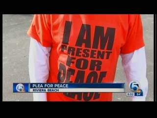 A Plea for Peace in Riviera Beach