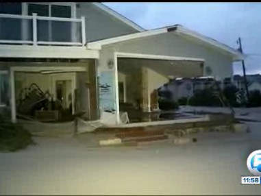 Sandy destruction 10/30/12