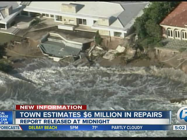 PB estimated $6 million in repairs from Sandy 11/19/12