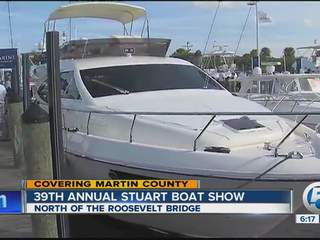 Tour the $1.9mil yacht for sale at the Stuart Boat Show