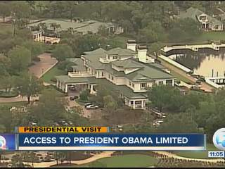 Press not allowed access to President Obama during weekend getaway