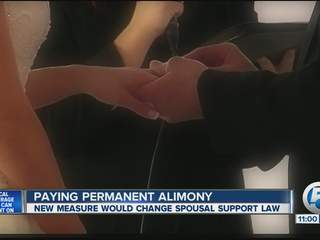 Paying permanent alimony