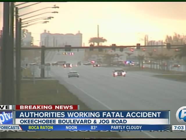Accident Okeechobee Blvd West Palm Beach