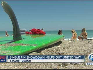 Single Fin Showdown helps raise money for United Way