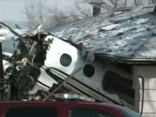 WPTV plane crash Indiana house