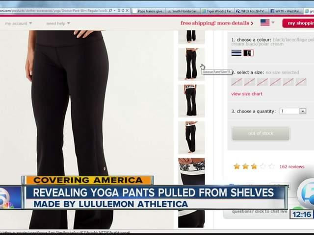 Yoga pants too revealing lululemon athletica yoga pants