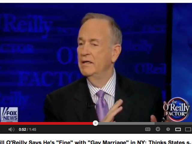 Bill O Reilly On Gay Marriage 28
