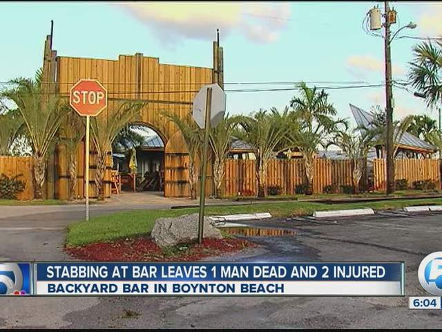 brothers 39 the backyard 39 bar stabbing in boynton beach leaves one
