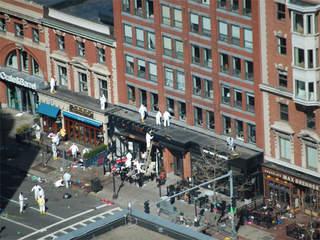 Boston Marathon on Boston Marathon Bombing  Investigators Want To Question A Possible