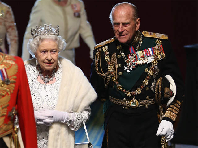 Queen Elizabeth Ii And Prince Philip 2013 Prince Phillip hospita...