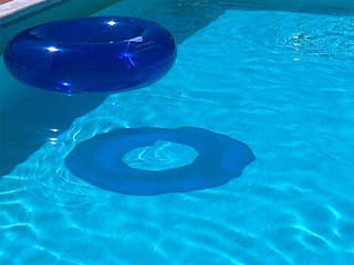Toddler taken to hospital after near drowning