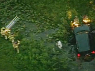 Driver rescued after I-95 crash
