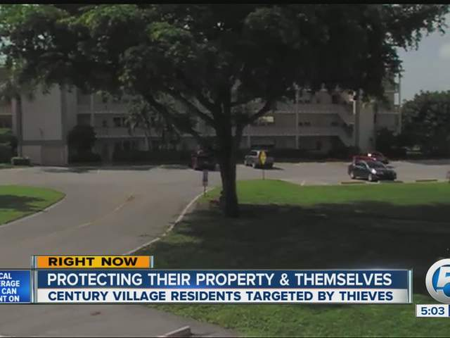Century Village Burglaries Thieves Strike Complex In
