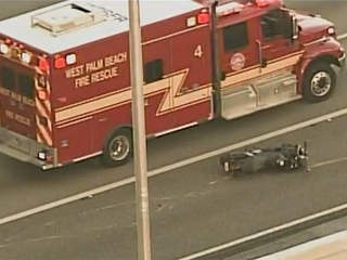 Motorcycle Accident Near West Palm Beach