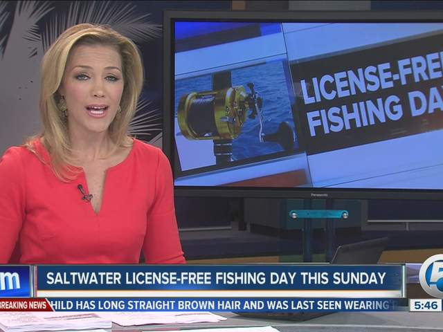 Florida Saltwater Fishing License Free Day