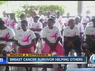 Raising awareness of breast cancer