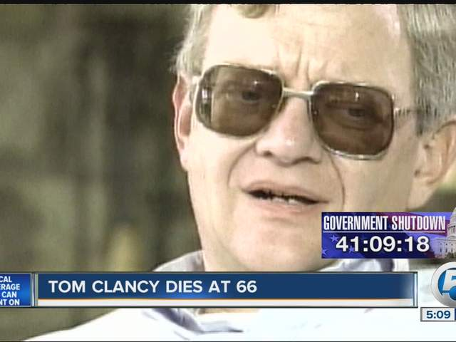 Tom clancy dies sources with his publisher and family say wptv com