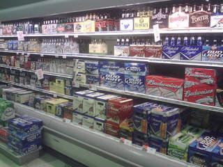 Shop owner fires warning, gets stolen beer back