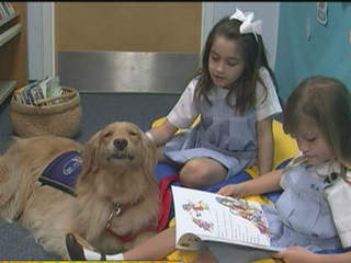 'Jodi the dog' helping students
