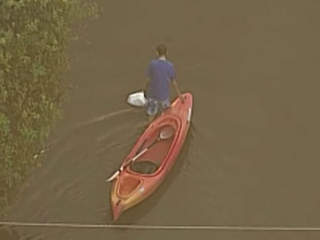 Chopper 5 view of flooding