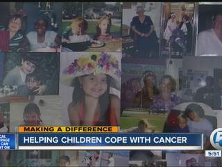 Cancer survivor helping kids with cancer