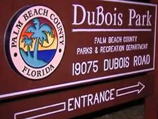 Adviertem sobre riesgo de nadar en Dubois Park