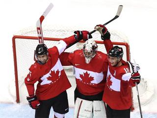 Canada beats Sweden 3-0, wins gold in hockey